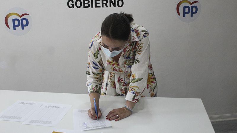 Recogida de firmas contra los indultos Illescas